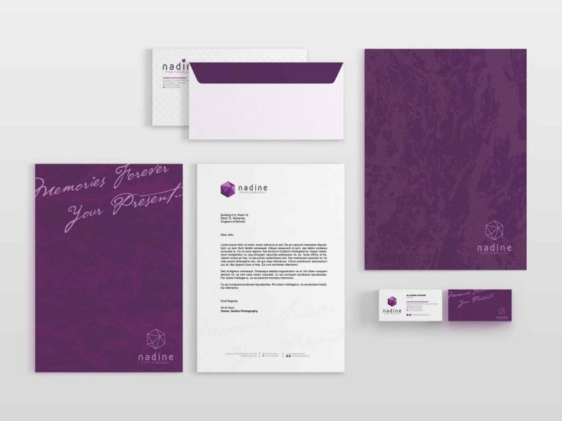 nadine-stationery | Creative Photography Branding Bahrain