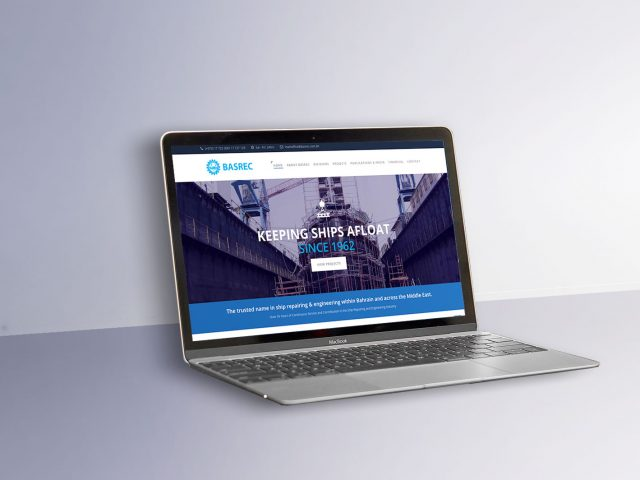 BASREC - Website design