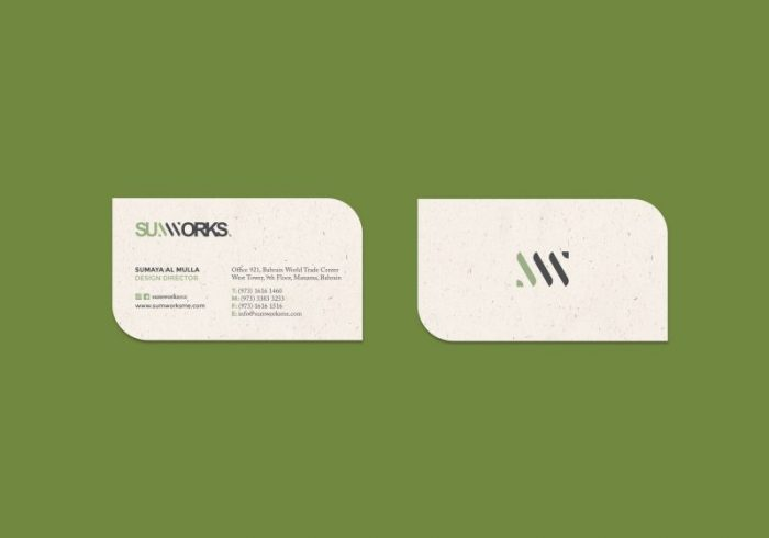 Sumworks Business Cards