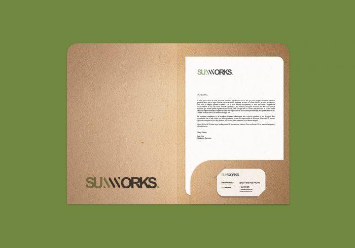 Sumworks Brand Folder